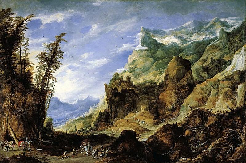 Йос де Момпер - Горный пейзаж. ок1620. 226х327. М Лихтенштейн. Liechtenstein Museum (Vienna)