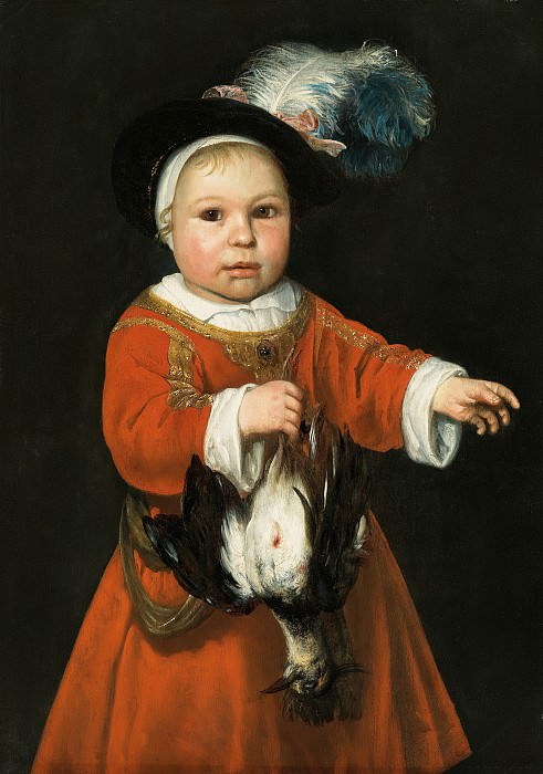 Альберт Кейп - Маленькая охотница. 1650-е. 69х48. Колл Гогенбухау. Музей Лихтенштейн (Вена)