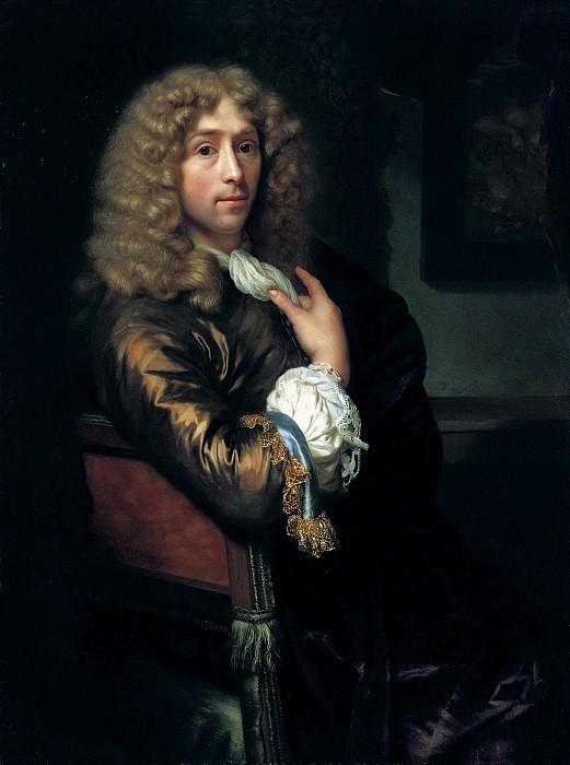 Годфрид Шалькен - Автопортрет. 1679. 43х32. М Лихтенштейн. Музей Лихтенштейн (Вена)