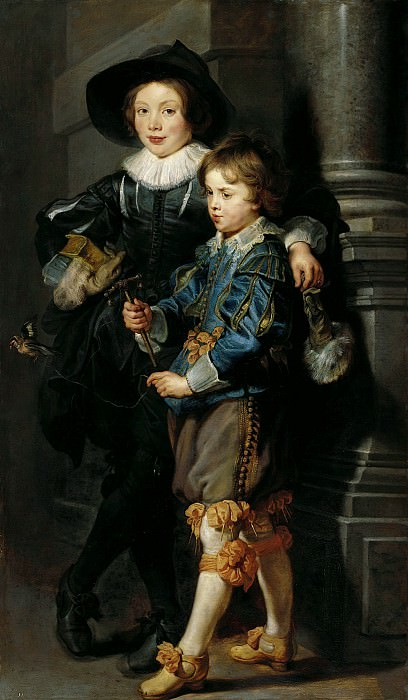 Albert and Nicolaas Rubens - 1626 - 1627. Peter Paul Rubens