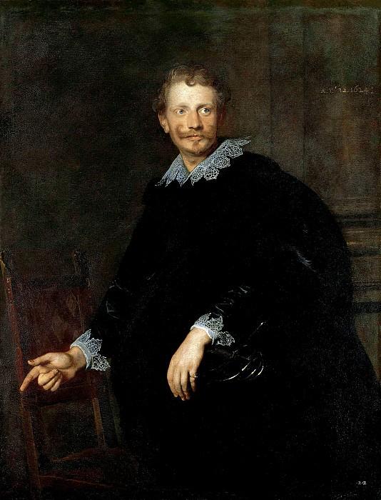 Антонис ван Дейк - Портрет генуэзского дворянина. 1624. 131х101. М Лихтенштейн. Liechtenstein Museum (Vienna)