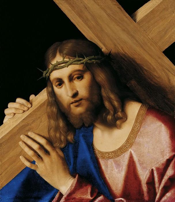Катена (Винченцо ди Бьяджо) - Несение креста. 1520-30. 47х38. М Лихтенштейн. Liechtenstein Museum (Vienna)