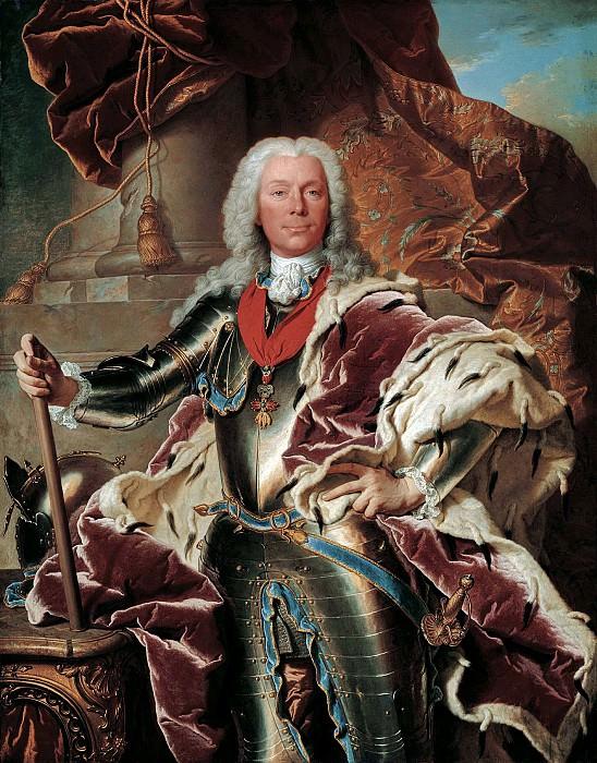 Иасент Риго - Портрет принца Жозефа Венцеля фон Лихтенштейн (1696-1772). 1740. 146х114. М Лихтенштейн. Liechtenstein Museum (Vienna)