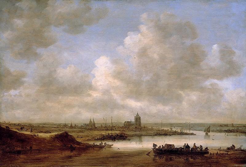 Ян ван Гойен - Рейн в Арнеме. 1645. 65х97. М Лихтенштейн. Liechtenstein Museum (Vienna)