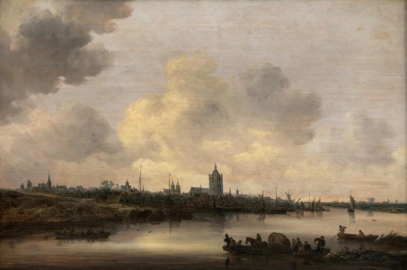 Jan van Goyen (1596-1656) - View of the City of Arnhem. Kobenhavn (SMK) National Gallery of Denmark