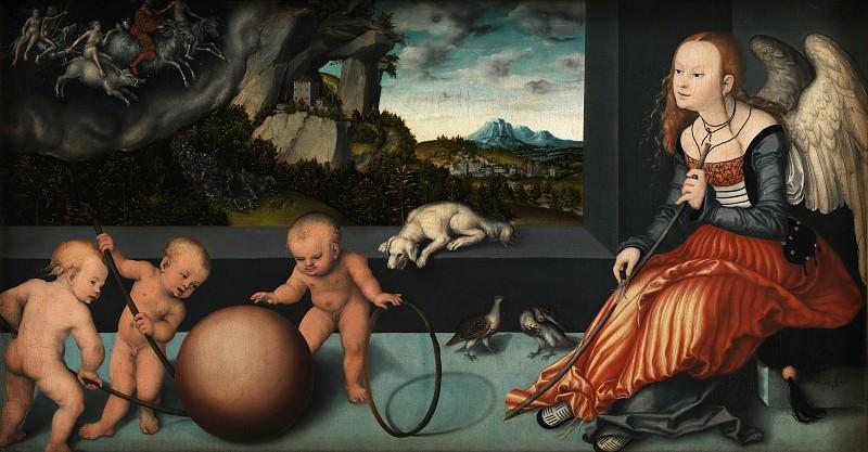 Lucas Cranach den Ældre (C. 1472-1553) - Melancholy. Kobenhavn (SMK) National Gallery of Denmark