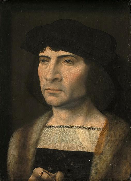 Госсарт, Ян (1478-1532) - Мужской портрет. Копенгаген (SMK) Датская национальная галерея