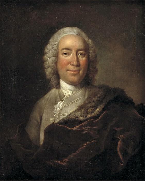 Johann Salomon Wahl (1689-1765) - Gerhard Morell, Curator of the Royal Danish Kunstkammer. Kobenhavn (SMK) National Gallery of Denmark