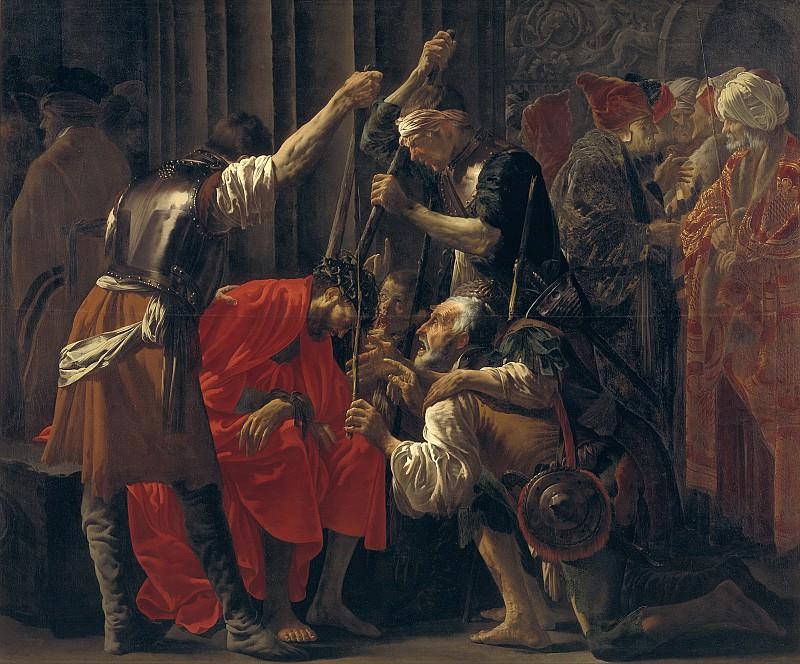 Тербрюгген, Хендрик (1588-1629) - Увенчание терновым венцом. Копенгаген (SMK) Датская национальная галерея