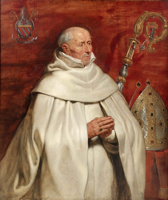 Matthaeus Yrsselius (1541-1629), Abbot of Sint-Michiel s Abbey in Antwerp. Peter Paul Rubens