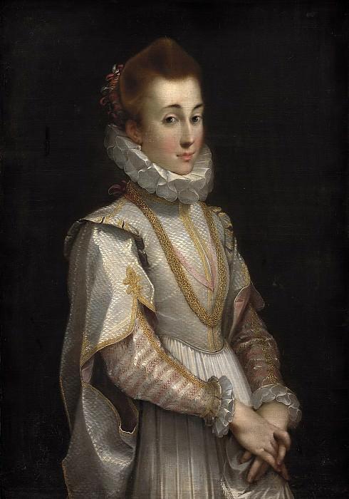 Federico Barocci (C. 1553-1612) - Portrait of a Young Lady. Kobenhavn (SMK) National Gallery of Denmark