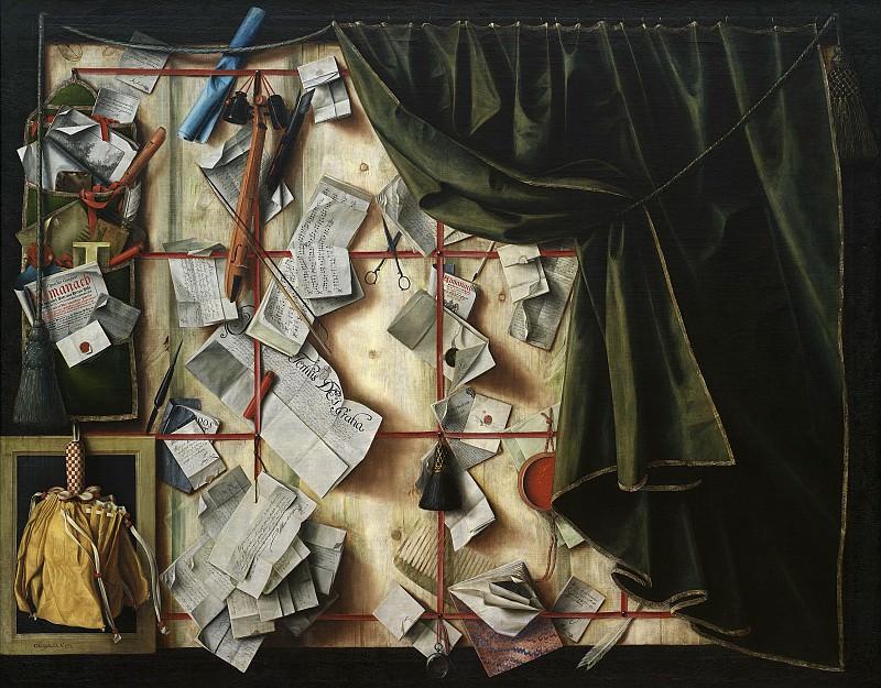 Гейсбрехтс, Корнелис Норбертус (ок1610- после 1675) - Тромплёй с прокламацией Фредерика III. Копенгаген (SMK) Датская национальная галерея