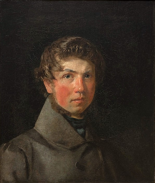 Christen Købke (1810-48) - Self-Portrait. Kobenhavn (SMK) National Gallery of Denmark