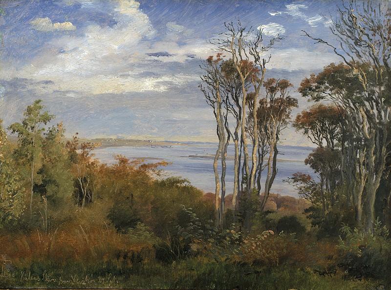 Johan Thomas Lundbye (1818-48) - Kolås Wood. Vejrhøj. Kobenhavn (SMK) National Gallery of Denmark