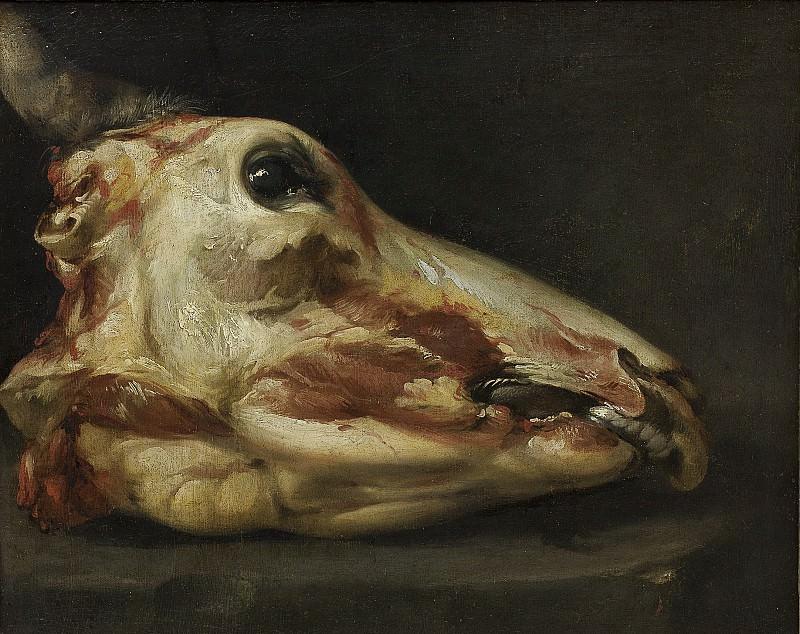 Felice Boselli - Skinned Head of a Young Bull. Kobenhavn (SMK) National Gallery of Denmark