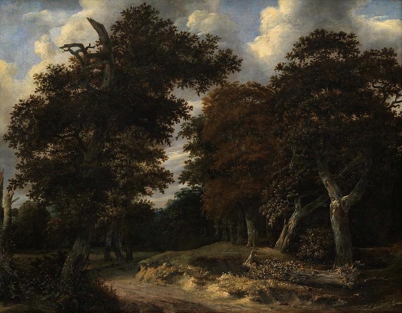 Рейсдаль, Якоб ван (ок1628-82) - Дорога в дубраве. Копенгаген (SMK) Датская национальная галерея