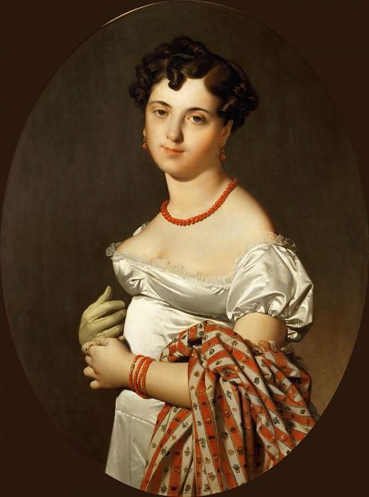 Madame Panckoucke (Cecile Bochet). Jean Auguste Dominique Ingres