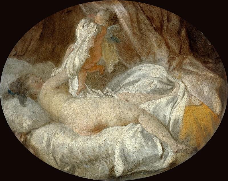 Jean-Honoré Fragonard -- Stolen Shift (La chemise enlevée). Part 1 Louvre