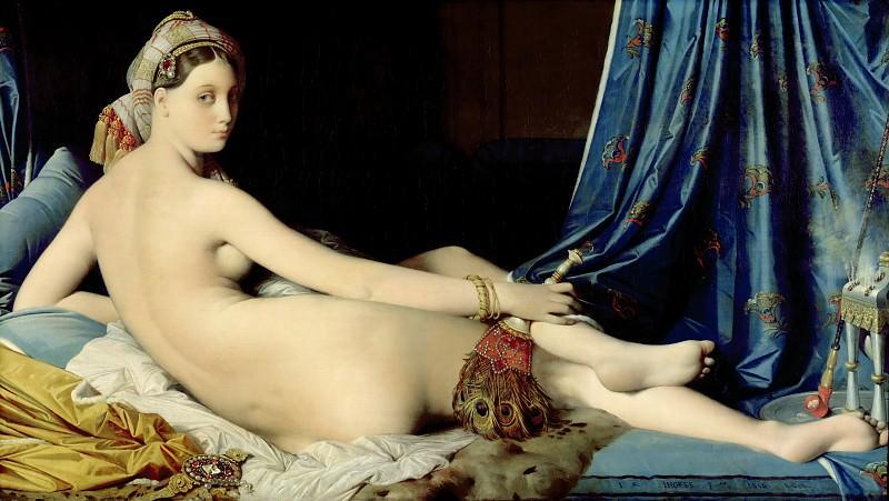 The Grand Odalisque. Jean Auguste Dominique Ingres