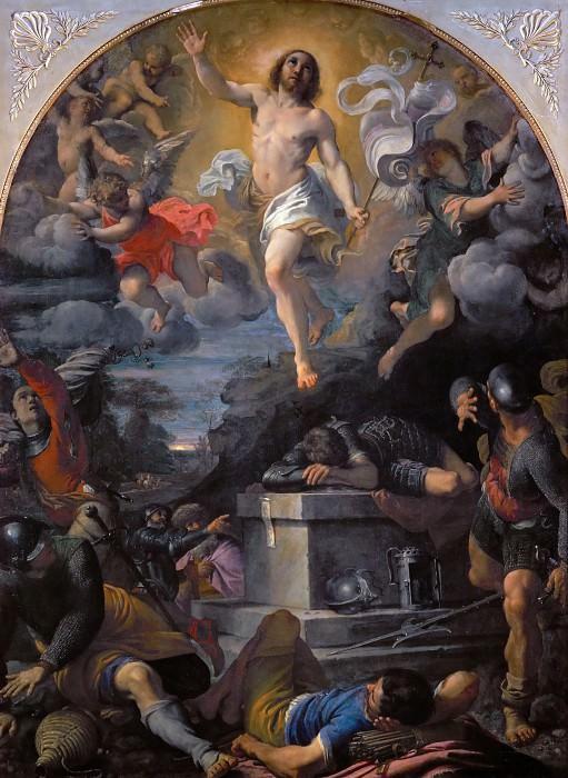 Annibale Carracci (1560-1609) -- Resurrection of Christ. Part 1 Louvre