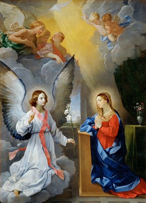 Guido Reni (1575-1642) -- Annunciation. Part 1 Louvre