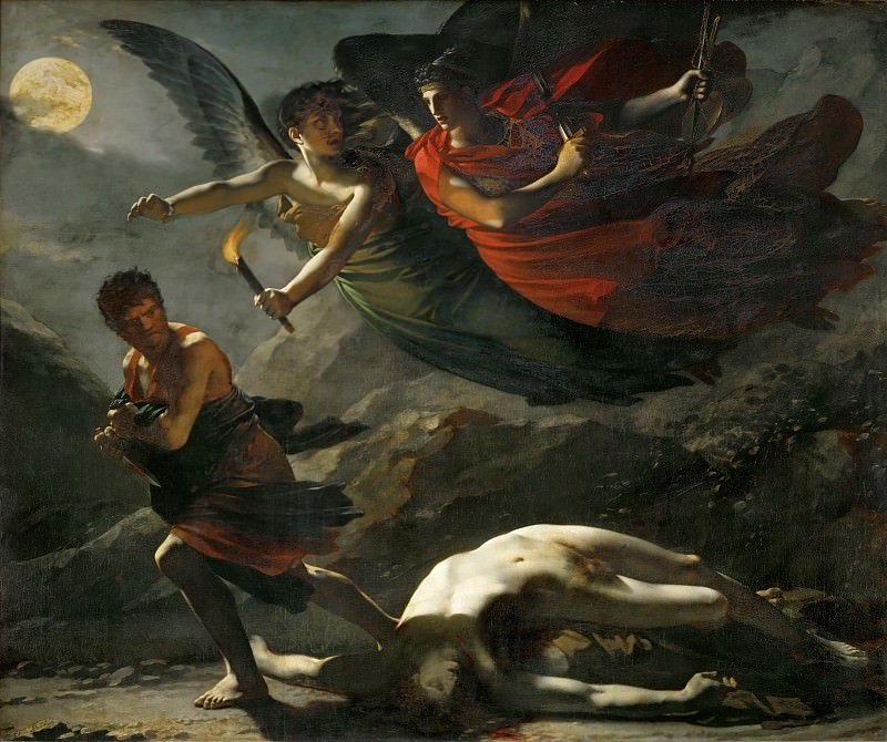 Pierre-Paul Prud'hon (1758-1823) -- Justice and Divine Vengeance Pursuing Crime. Part 1 Louvre