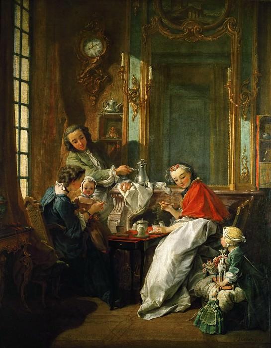 Буше, Франсуа -- Завтрак. Part 1 Louvre