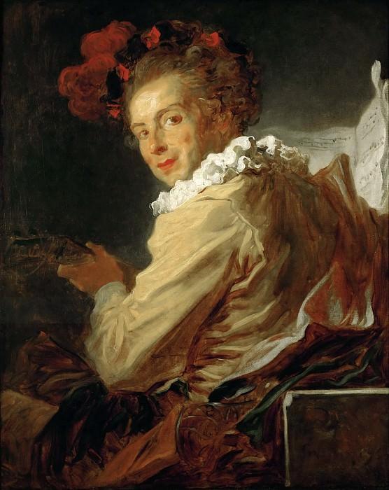 FRAGONARD, Jean-Honor? -- (b. 1732, Grasse, d. 1806, Paris). Part 1 Louvre