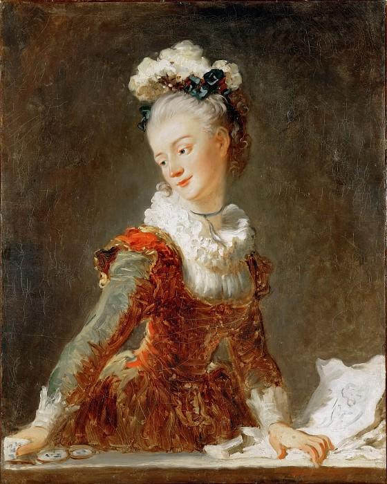 Мари-Мадлен Гимар (1743-1816), прима-балерина парижской оперы. Жан Оноре Фрагонар