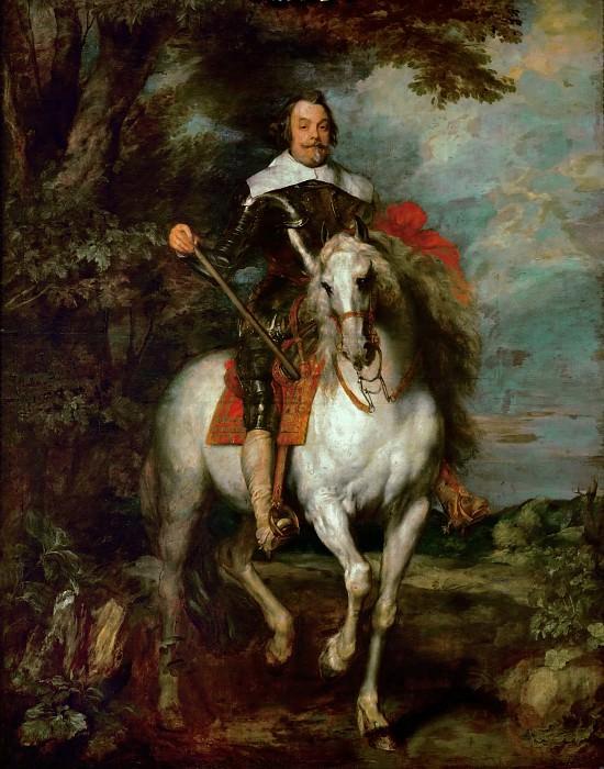 Anthony van Dyck -- Francisco de Moncada. Part 1 Louvre