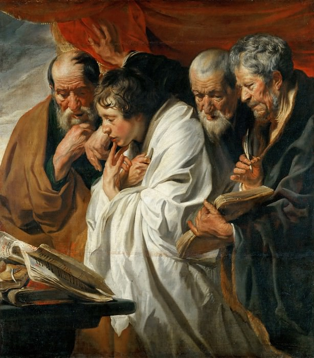 Jacob Jordaens the Elder (1593-1678) -- The Four Evangelists. Part 1 Louvre