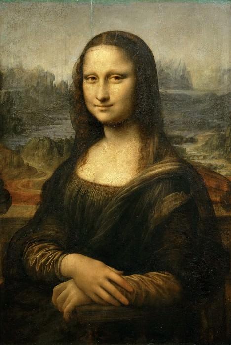 Леонардо да Винчи (1452 Винчи - 1519 замок Сен-Клу близ Амбуаза) -- Мона Лиза (Джоконда). часть 1 Лувр