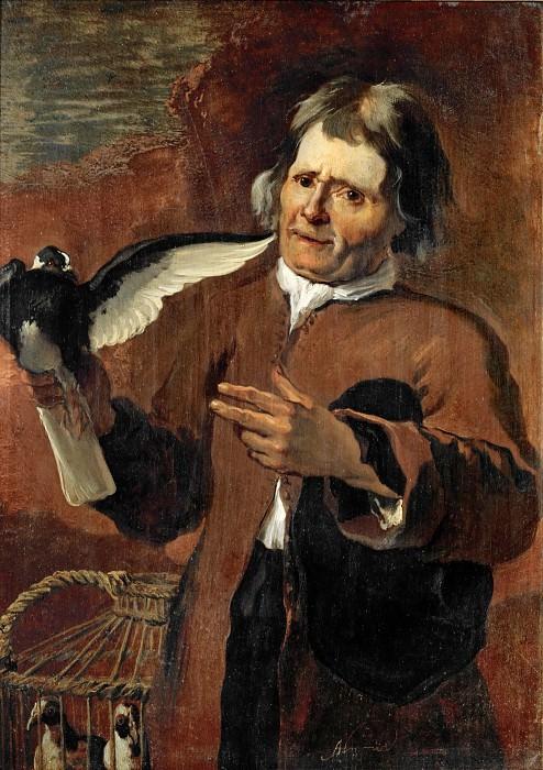 Abraham Hondius (c. 1625-1691) -- The Pigeon-Seller. Part 1 Louvre