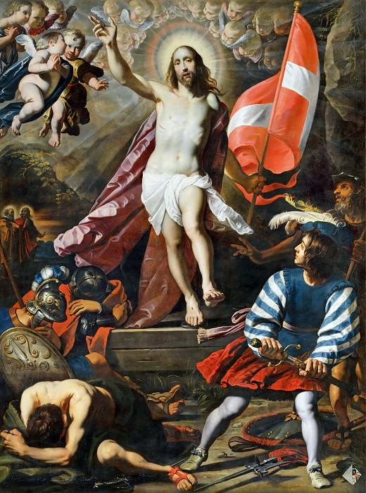 Gerard Seghers (1591-1651) -- Resurrection of Christ. Part 1 Louvre