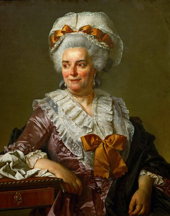 Genevieve Jacqueline Pecoul, the painter's mother-in-law. Jacques-Louis David