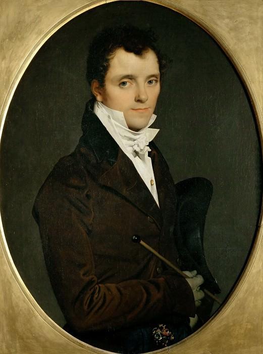 Edme Bochet (1783-1871), inspecteur des Domaines a Rome. Jean Auguste Dominique Ingres
