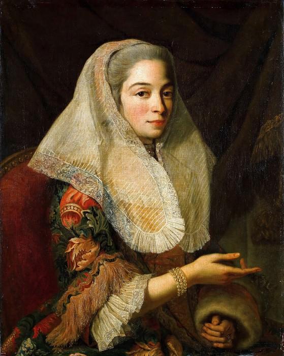 Antoine de Favray -- Portrait of a Young Maltese Woman (Une jeune femme maltaise). Part 1 Louvre