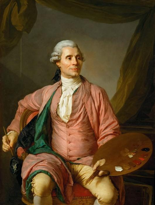 Joseph Siffred Duplessis -- Joseph-Marie Vien. Part 1 Louvre