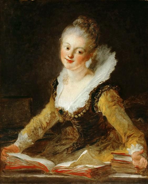 learning. Jean Honore Fragonard