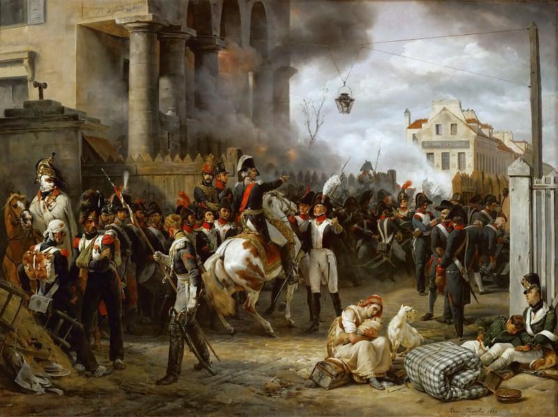 Верне, Эмиль-Жан-Орас (Париж 1789-1863) -- Ворота в Клиши. часть 1 Лувр