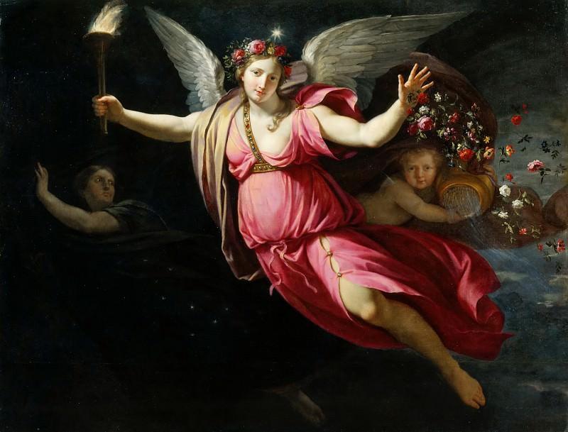 Jean-Baptiste de Champaigne -- Aurora. Part 1 Louvre