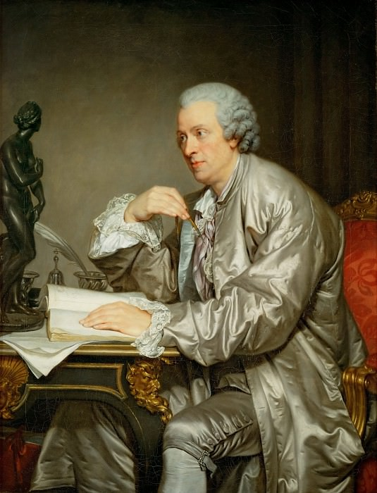 Грёз, Жан-Батист (1725 Турню - 1805 Париж) -- Клод-Анри Ватле. часть 1 Лувр