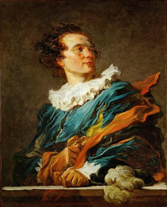 Portrait de l'Abbe de Saint-Non. Jean Honore Fragonard