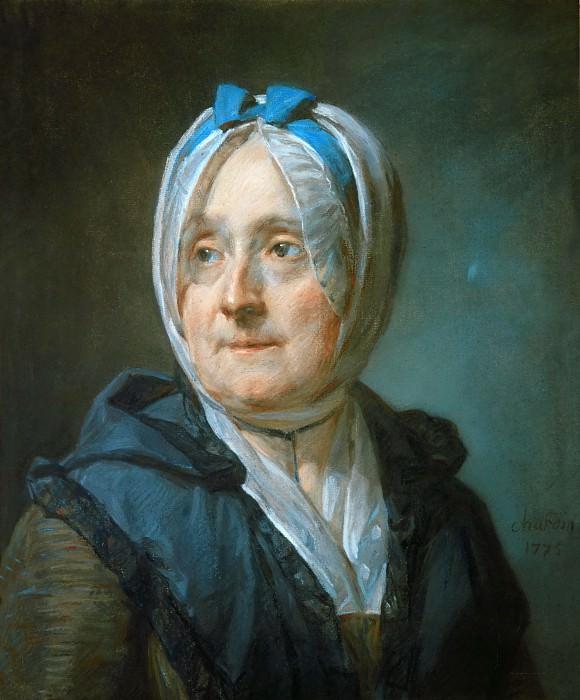 Шарден, Жан-Батист-Симеон (Париж 1699-1779) -- Мадам Шарден. часть 1 Лувр