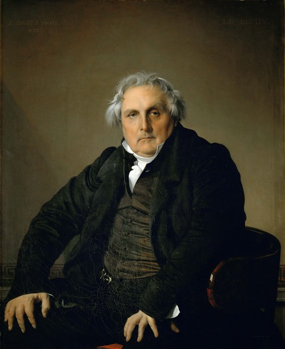 Monsieur Bertin. Jean Auguste Dominique Ingres