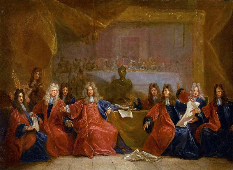 Nicolas de Largillière -- The Provost of Merchants and the Aldermen of Paris. Part 1 Louvre