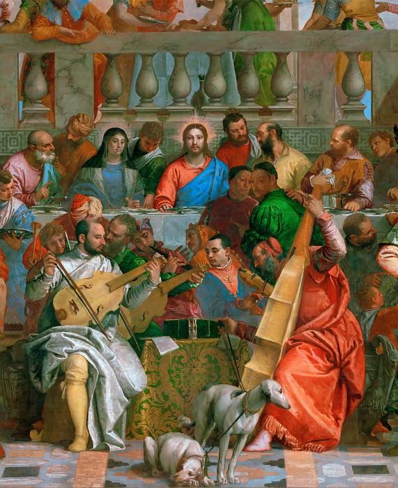 Веронезе (Паоло Кальяри) (Верона 1528 - 1588 Венеция) -- Брак в Кане. Part 1 Louvre