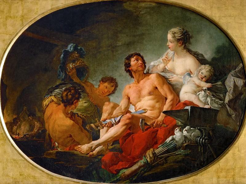 Les forges de Vulcain. Part 1 Louvre