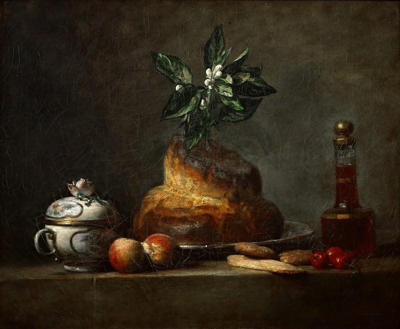 Шарден, Жан-Батист-Симеон (Париж 1699-1779) -- Бриошь. Part 1 Louvre