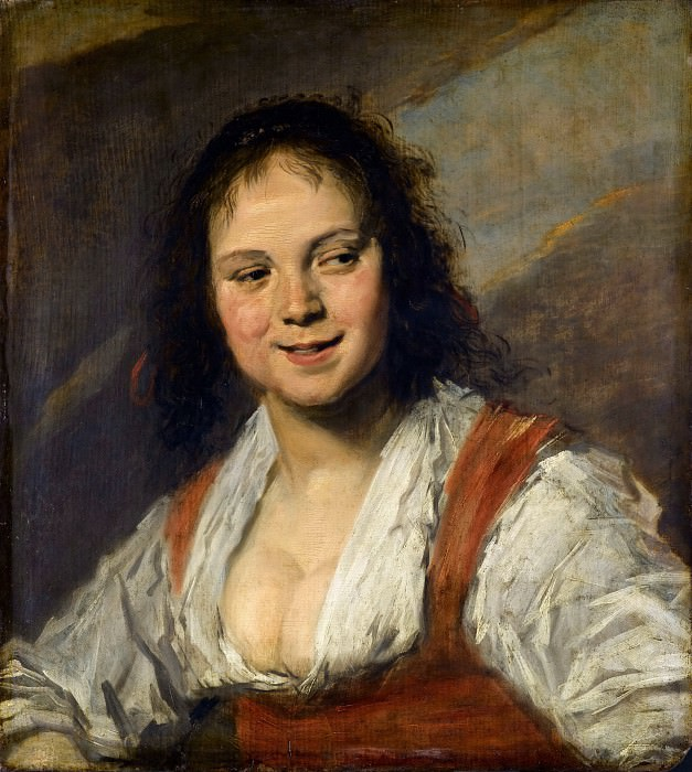 Frans Hals -- The Gypsy Girl (La Bohémienne). Part 1 Louvre